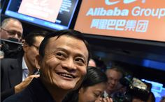 Chinas Alibaba Q1 revenue leaps 59% best since IPO   Chinese e-commerce giant Alibaba saw revenues leap 59 percent year-on-year for the quarter ended in June it said Thursday its strongest growth since it listed on the New York Stock Exchange in 2014.  Revenue for the company seen as a proxy for Chinas increasingly crucial consumer sector reached 32.15 billion yuan ($4.83 billion) in the June quarter it said in a statement.  Alibaba is Chinas dominant player in online commerce with its…