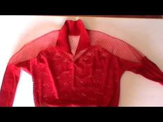 Блузка с цельнокроеными рукавами. Продолжение. - YouTube