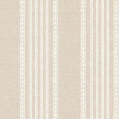 8 in. x 10 in. Adria Linen Jacquard Stripe Wallpaper Sample