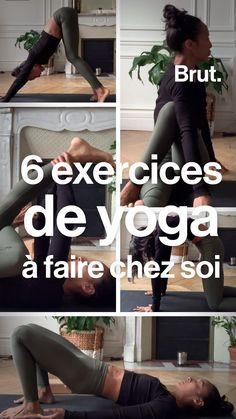 Yoga Mantras, Yoga Meditation, Yoga Gym, Yoga Fitness, Yoga Videos, Workout Videos, Stress Yoga, Yoga Positions, Yoga For Flexibility