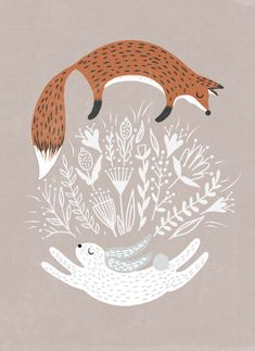 Fox and Hare by Hannah Williams