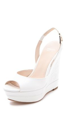 (Limited Supply) Click Image Above: Versace Platform Wedge Sandals Flat Wedges, White Wedges, Platform Wedge Sandals, Wedge Heels, Strappy Heels, Tacos Chinos, Versace Heels, Slingback Mules, Shoe Boots