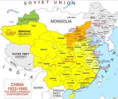 The Civil War in China, Part I – The Bureaucratic Fight in Washington - Association for Diplomatic Studies & Training Military Tactics, Service Map, China Map, Physical Properties, Alternate History, Historical Maps, Infographic, Chinese, Nepal
