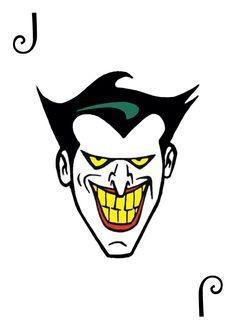 Der Joker, Joker Art, Dc Comics, Batman Comics, Joker Card Tattoo, Jokers Wild, Joker Pics, Batman Artwork, Batman The Animated Series