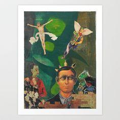 Leaders Art Print by Furakulum - $17.68