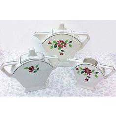 Beautiful French Art Deco Tea Set, Josy