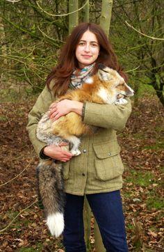 Avoir un renard apprivoisé