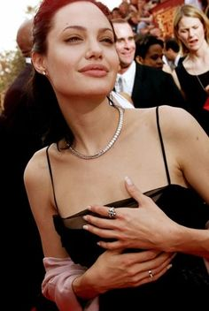 """FILE - In this March 12, 2000 file photo, Actress Angelina Jolie arrives at the 6h Annual Screen Actors Guild Awards in Los Angeles. Jolie won an award for Outstanding Performance for a Female Actor in a Supporting Role for """"Girl, Interrupted."""""""