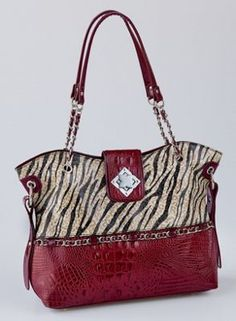 Carly zebra bag $129