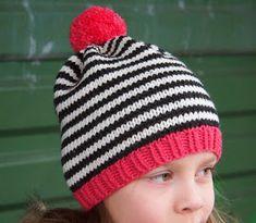 Koukutettu: Raitapipo Knitted Hats, Crochet Hats, Mittens, Scarves, Knitting, How To Wear, Beanies, Fashion, Knitting Hats
