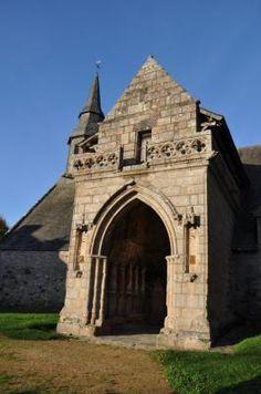 La chapelle de Kermaria an Iskuit Plouha . Bretagne