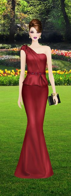 Fashion Game Covet Fashion Games, Fashion Art, Girl Fashion, Fashion Looks, Fashion Design, Evening Dresses, Prom Dresses, Express Fashion, Glamour