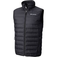 Columbia Sportswear Men's Lake 22 Down Vest (Black, Size Large) - Men's Outerwear, Men's Ski Outerwear at Academy Sports