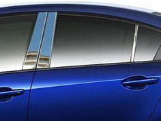 MAZDA3 2010-2012 MAZDA (4-door)(6 pieces: Pillar Post Trim Kit) PP10751