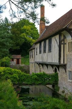 Ightham Mote - I have pictures of this place on my blog, as it's not far from here.