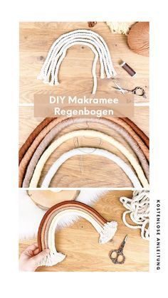 Diy Crafts For Adults, Diy For Kids, Yarn Inspiration, Rope Crafts, Rainbow Crafts, Macrame Projects, Macrame Tutorial, Macrame Patterns, Creations