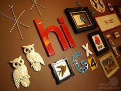 Gallery wall tips.