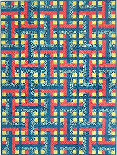 Recently purchased this one too... Fun and Done Fast Lane Quilt.  www.AlderwoodQuilts.com  Grae, this is another one...