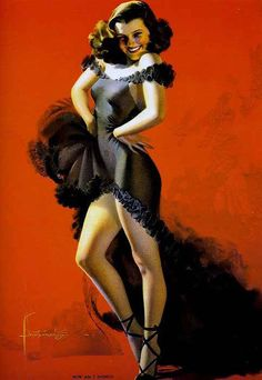 Rolf Armstrong Pin-Up artist | Vintage poster #Pin-Up #Girls #Retro #Posters #Affiches
