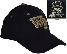 Wake Forest- Zephyr Z-Fit Hat  $21.99  Conference Apparel & College Sports Apparel - Conference Wear - Salisbury, North Carolina College Hats, Wake Forest, Sports Apparel, Salisbury, Sport Outfits, North Carolina, Conference, Baseball Hats, Fitness