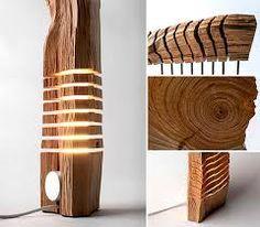 wood lamp design - Cerca con Google