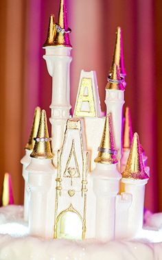 Wedding Cake Wednesday: Snow-Covered CastleEver After Blog | Disney Fairy Tale Weddings and Honeymoon