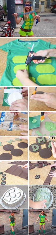 Last Minute DIY Halloween Costumes for Teens | Teenage Mutant Ninja Turtle