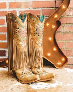Cute Cowgirl Boots, Womens Cowgirl Boots, Western Boots, Men Boots, Country Boots, Country Wear, Country Girl Style, Southern Style, Tan Leather