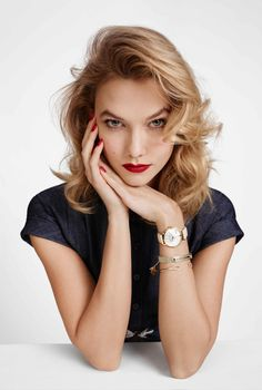 Karlie Kloss @karliekloss by Emma Summerton @MsSummerton for Kate Spade @katespadeny Fall 2015 #motion #hair