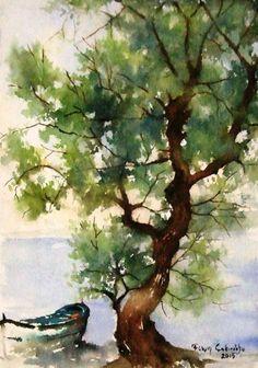 Orijinal Sulboya -Yalnız Ağaç Zet.com'da