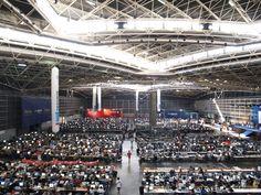 Vista área del recinto, Campus Party España