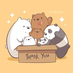 We just want to say how blessed, humbled and grateful we are for all the love and support. We wanted to do something for all of you… Bear Wallpaper, Kawaii Wallpaper, Cute Wallpaper Backgrounds, Wallpaper Iphone Cute, Disney Wallpaper, We Bare Bears Wallpapers, Panda Wallpapers, Cute Cartoon Wallpapers, Ice Bear We Bare Bears
