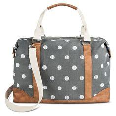146c613f7572 5428.5 34.99(free ship) Target Women s Polka Dot Print Canvas Tote Handbag  with Removable