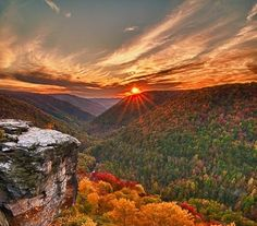 Lindy Point~ Blackwater Falls State Park, WV  Wouldn't it be wonderful to spend time here in God's Country.