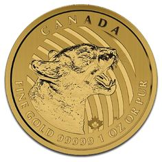 Call of the Wild, Growling Cougar, 200 Dollar, 1oz Gold, 2015, Gold, Canada, 31.1g | CoinInvest