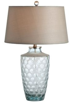 Paige Etched Lamp #laylagrayce #lighting #blue
