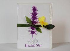 5 Flowers Letterpress Card Set, by LionOfBali, $30.00
