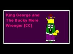 Veggietales - King George and the Ducky - More Wronger - You don't question a king's grammar, Bob!