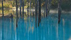 The Blue Pond,Hokkaido by Kent Shiraishi on 500px