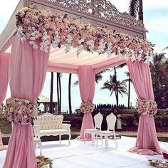 We are simply stunned by these incredible wedding decorations 💗 Double tap if this could be your dream wedding decor … ⠀ Decor by Event planner Source Perfect Wedding, Dream Wedding, Wedding Day, Wedding Goals, Magical Wedding, Spring Wedding, Luxury Wedding, Wedding Engagement, Wedding Church