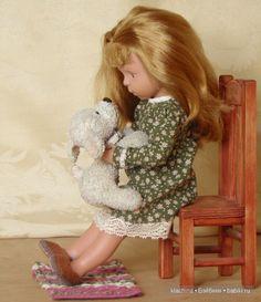Моя игровая кукла Сонечка - Minouche от Kathe Kruse / Sylvia Natterer, Сильвия Наттерер. Коллекционно-игровые куклы / Бэйбики. Куклы фото. Одежда для кукол