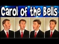 Carol of the Bells - Barbershop Quartet - Julien Neel (Trudbol A Cappella) - YouTube