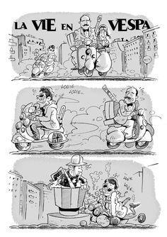 CAIDO DE UN PERAL - Cómic e Ilustración: Cómic para X Vespaniada 2016 Plasencia
