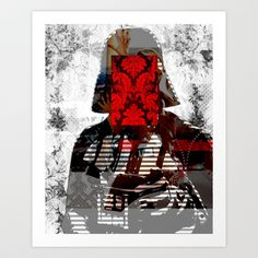 I´m your Tapete Art Print by Marko Köppe - $19.99