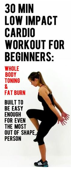 30 Min Low Impact Cardio Workout for Beginners!