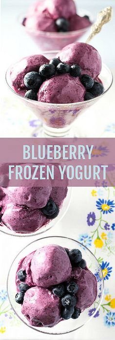 This Blueberry Frozen Yogurt is really easy to make. You don't need an ice cream maker and no churning is required. Includes easy storage instruction to help you keep this frozen yogurt in the freezer for a few months.