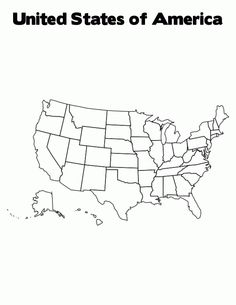 United States of America coloring page Coloring US History