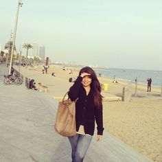 Barceloneta, Barcelona Spain. just a year ago. Can't wait to be there again!
