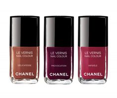 Chanel Matches Lips & Nails for Fashion!