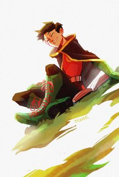 Hey Robin~ by fisheelue